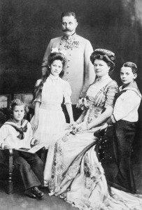 Kryeduka Franc Ferdinandi bashkë me familjen e tij