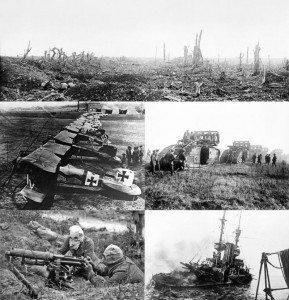 Shkatërrime të Luftës I Botërore 1914-1918