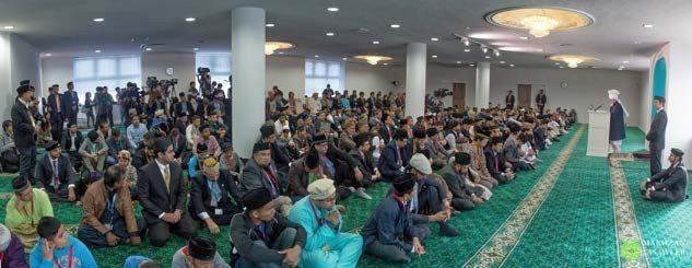 Kalifi i Xhematit Musliman Ahmedia përuroi xhaminë në Japoni, në nëntor të vitit 2015