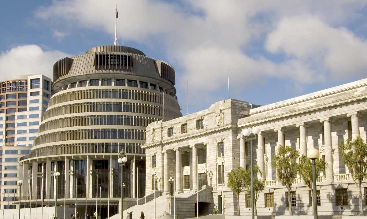 Paqja - Parlamenti Kombëtar Uellington Zelanda e Re