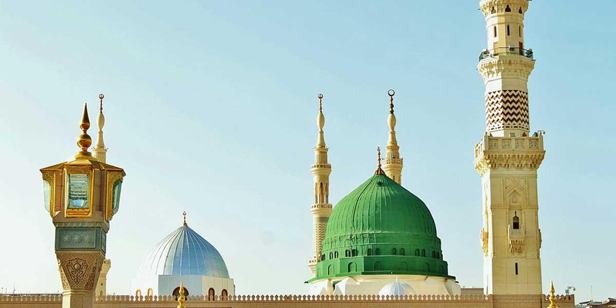 xhamia e profetit varri i profetit
