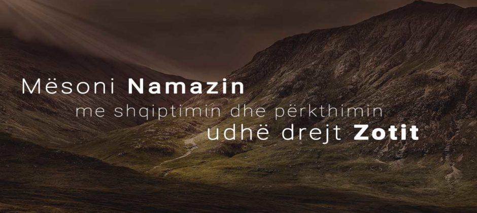 meso namazin namazi shqip