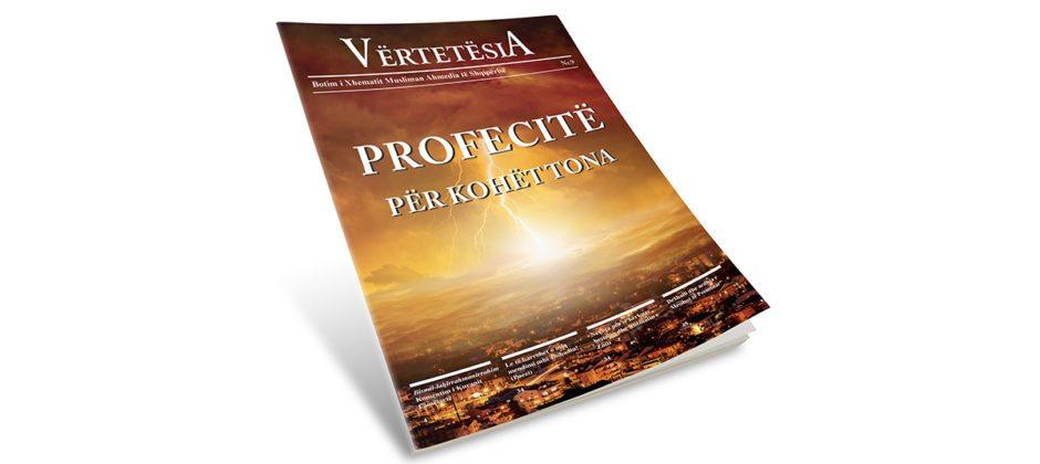 revista vertetesia profecia