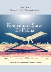 komentim i kuranit surja el-fatiha