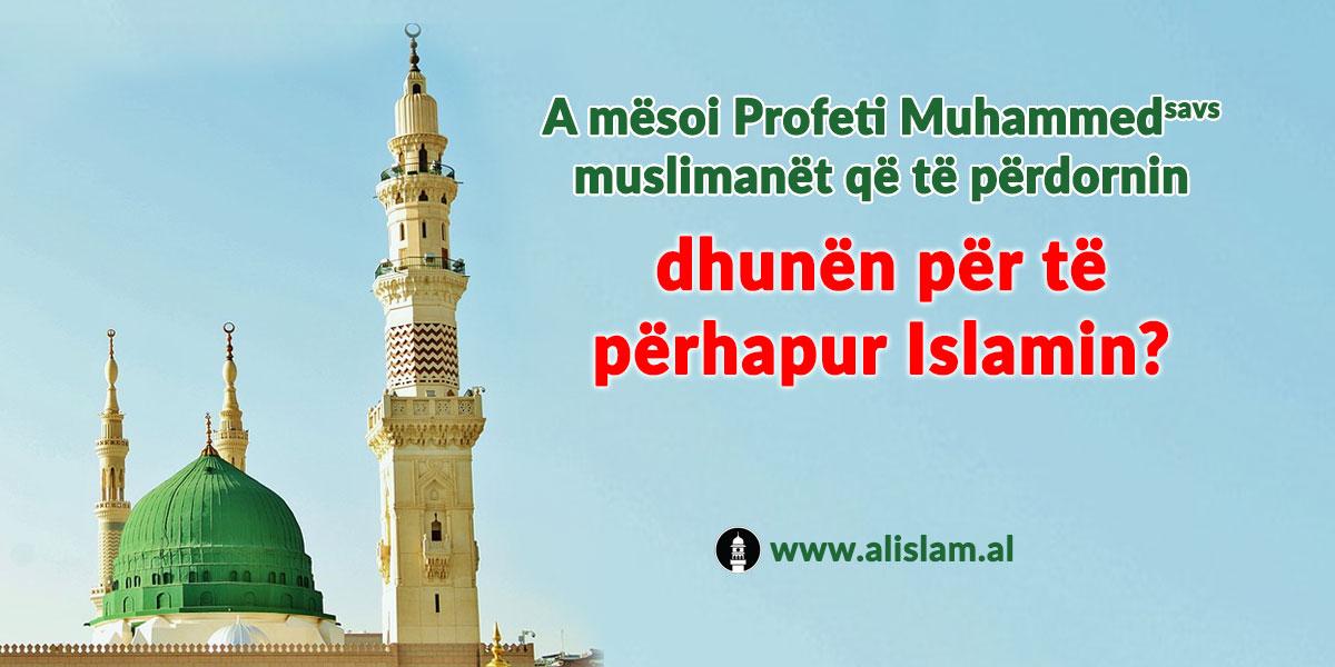 terrorizmi per te perhapur islamin