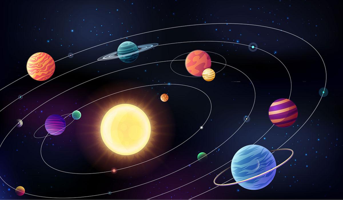 levizja e diellit sistemi diellor