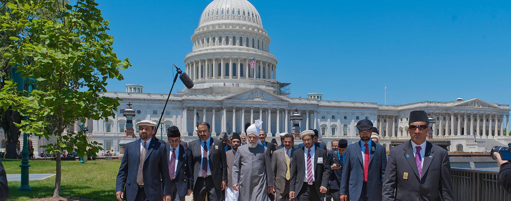Fjalimi i Kalifit të Xhematit Ahmedia në Capitol Hill | Marrëdhëniet e drejta midis shteteve është rruga drejt paqes
