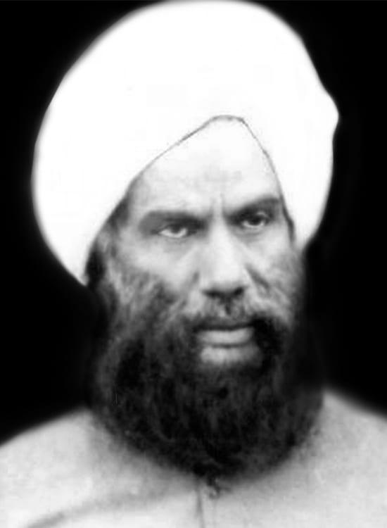 حضرة الحاج الحكيم مولانا نور الدين القرشي (رضي الله عنه)