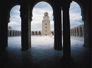 مسجد عقبة بن نافع القيروان - تونس