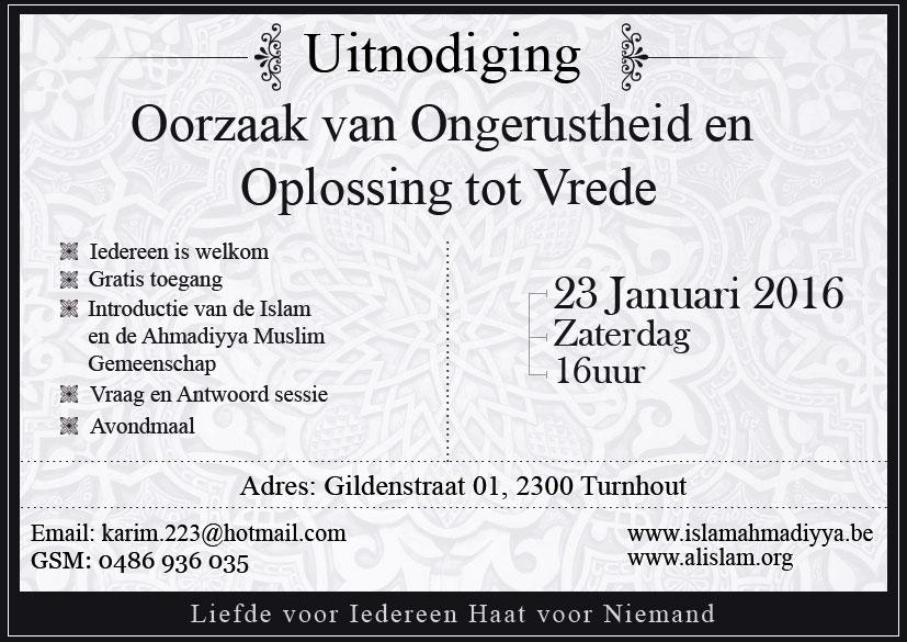 Invitation IR Dialogue Turnhout 230116