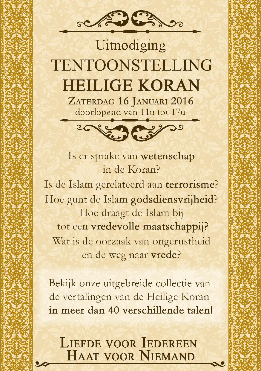 turnhout muslim An afternoon conversation on the role of faith communities in an increasingly secular world among leaders within the jewish, christian, and muslim traditions, featuring: rabbi lord jonathan sacks, dr robert p george, shaykh hamza yusuf.