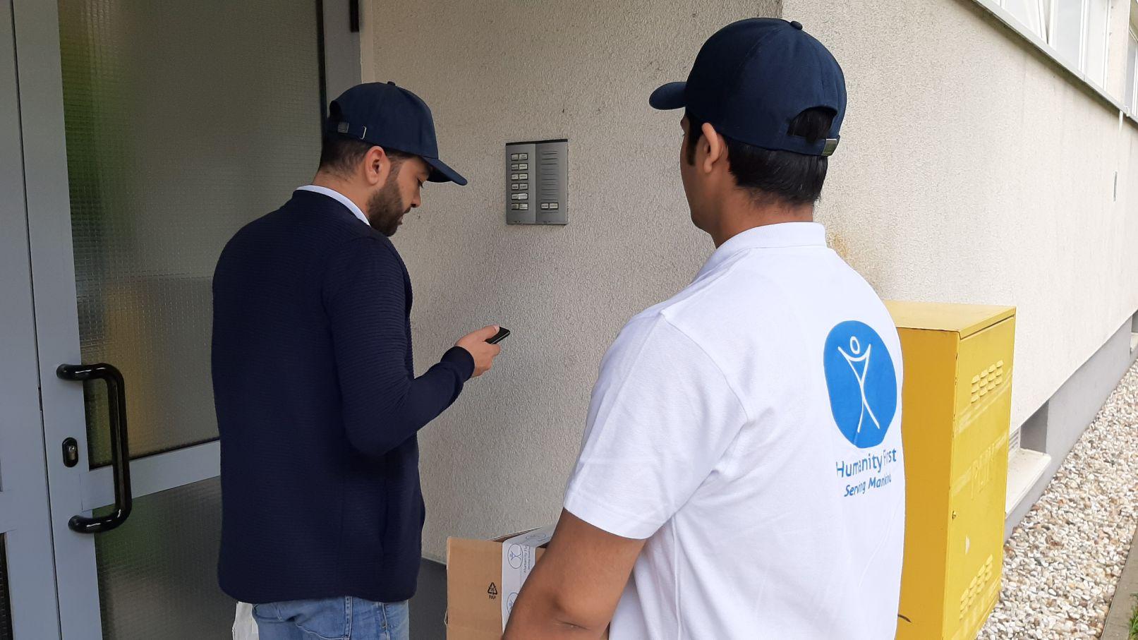 Donacija pakete hrane - Humanity First Hrvatska