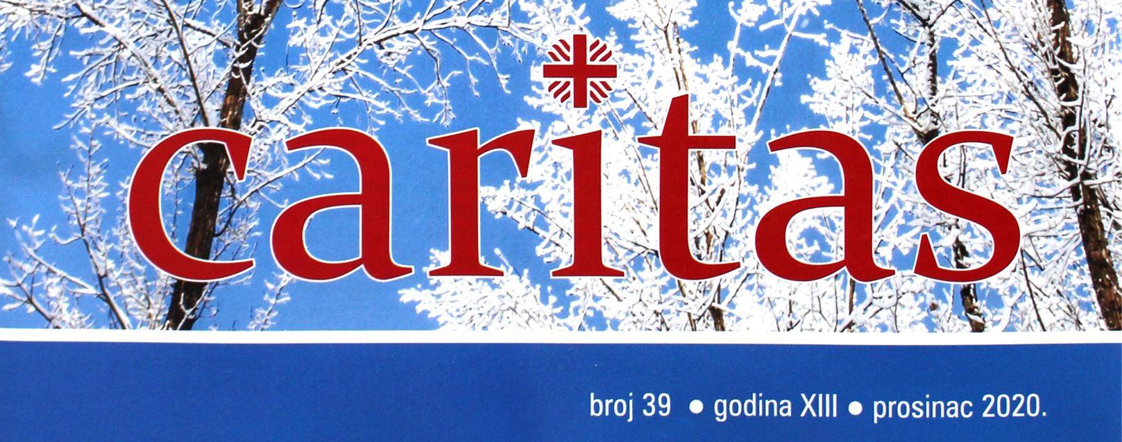 Caritasovo časopis - Humanity First, Caritas piše o akcijama Humanity Firsta