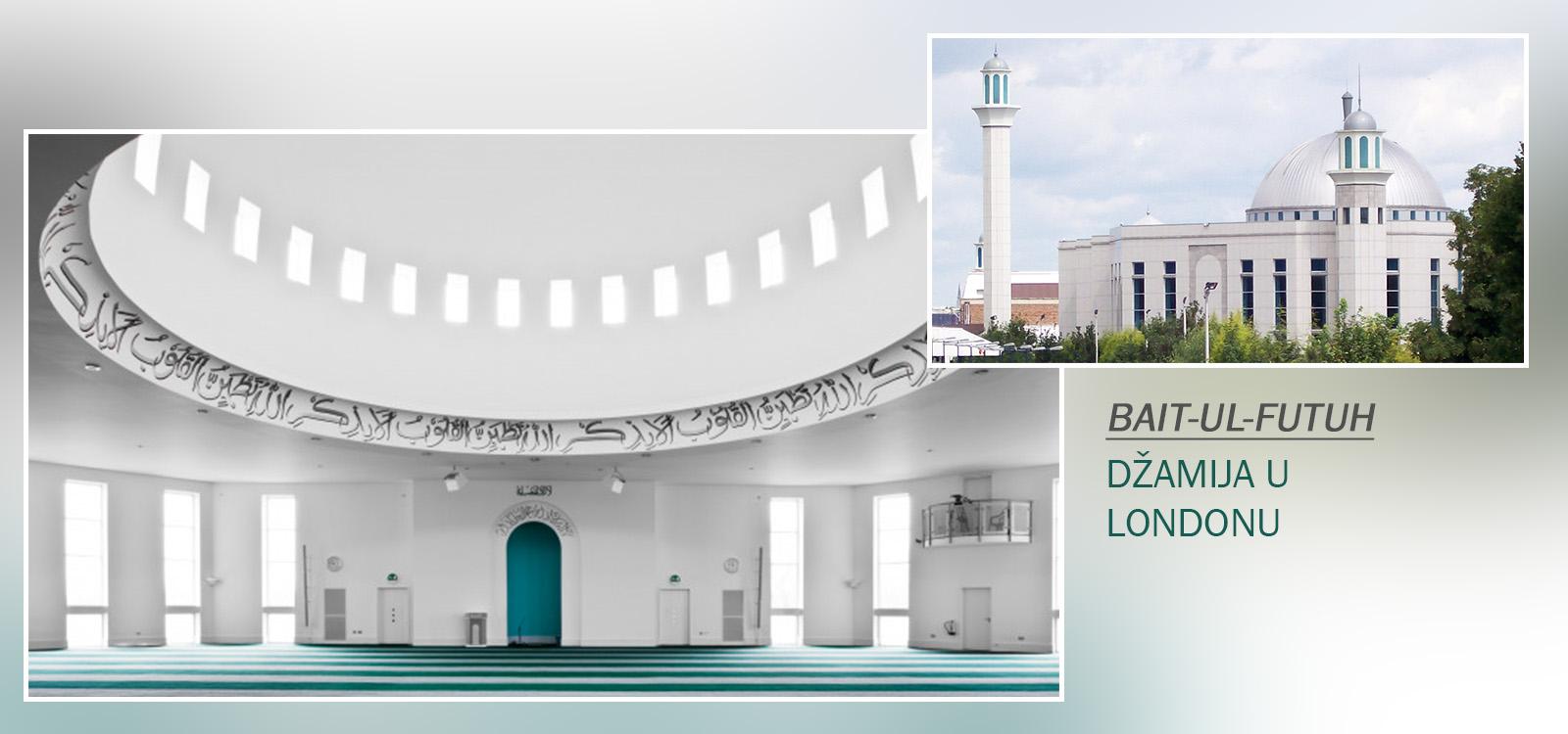Džamija osvjetljava društvo