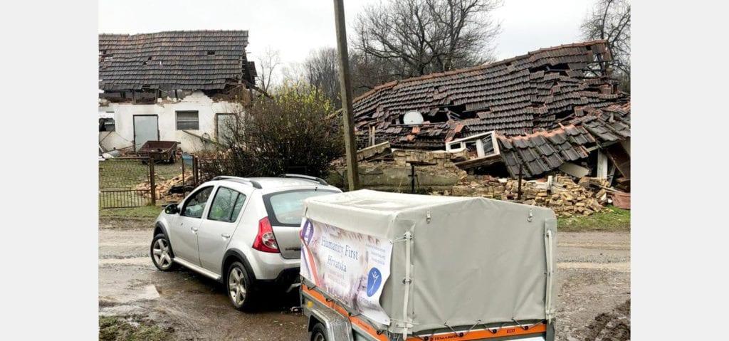 Humanity First Hrvatska nakon potresa