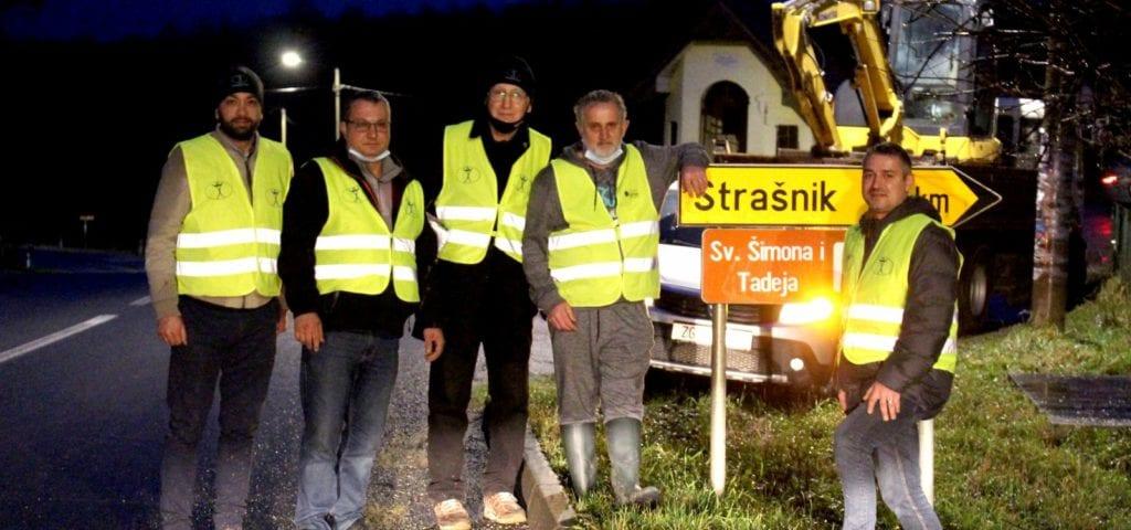 Humanity First Hrvatska i Volonteri - Strašnik