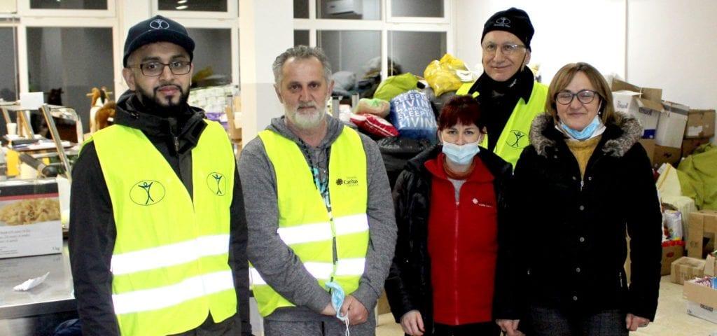 Humanity First Hrvatska - Caritas Sisak