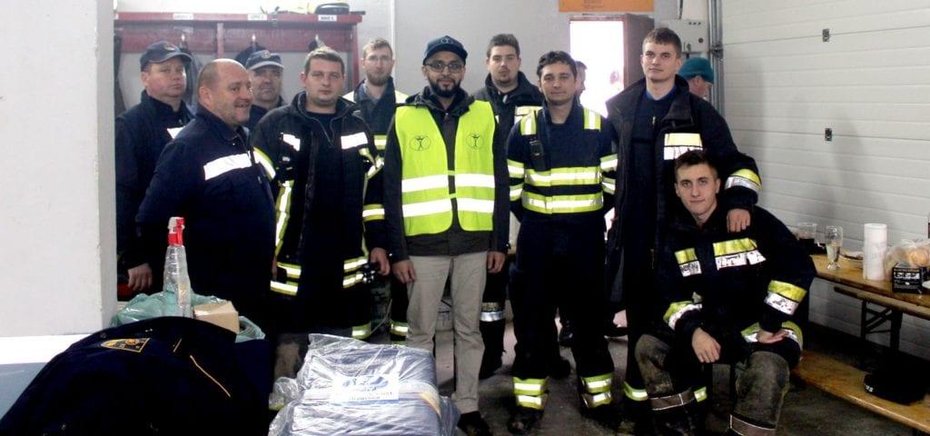 Humanity First Hrvatska - vatrogasci