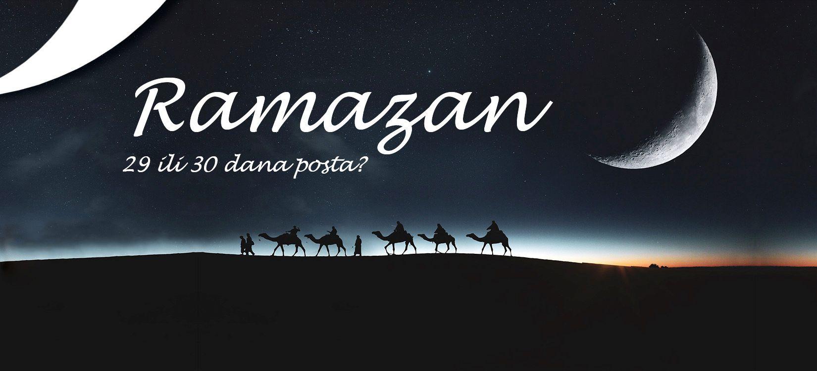 Ramazan i post