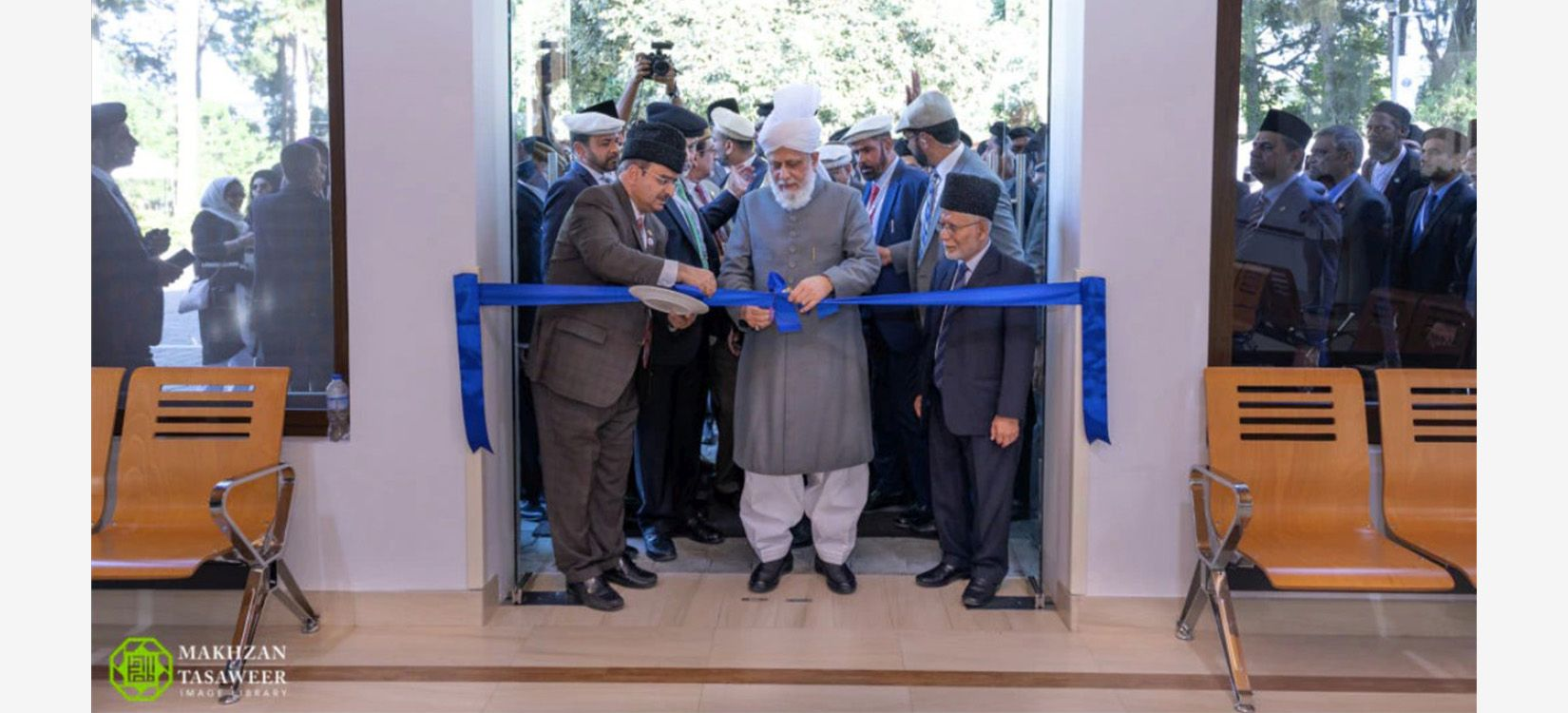 Peti Kalif Mirza Masroor Ahmad - Nasir bolnica