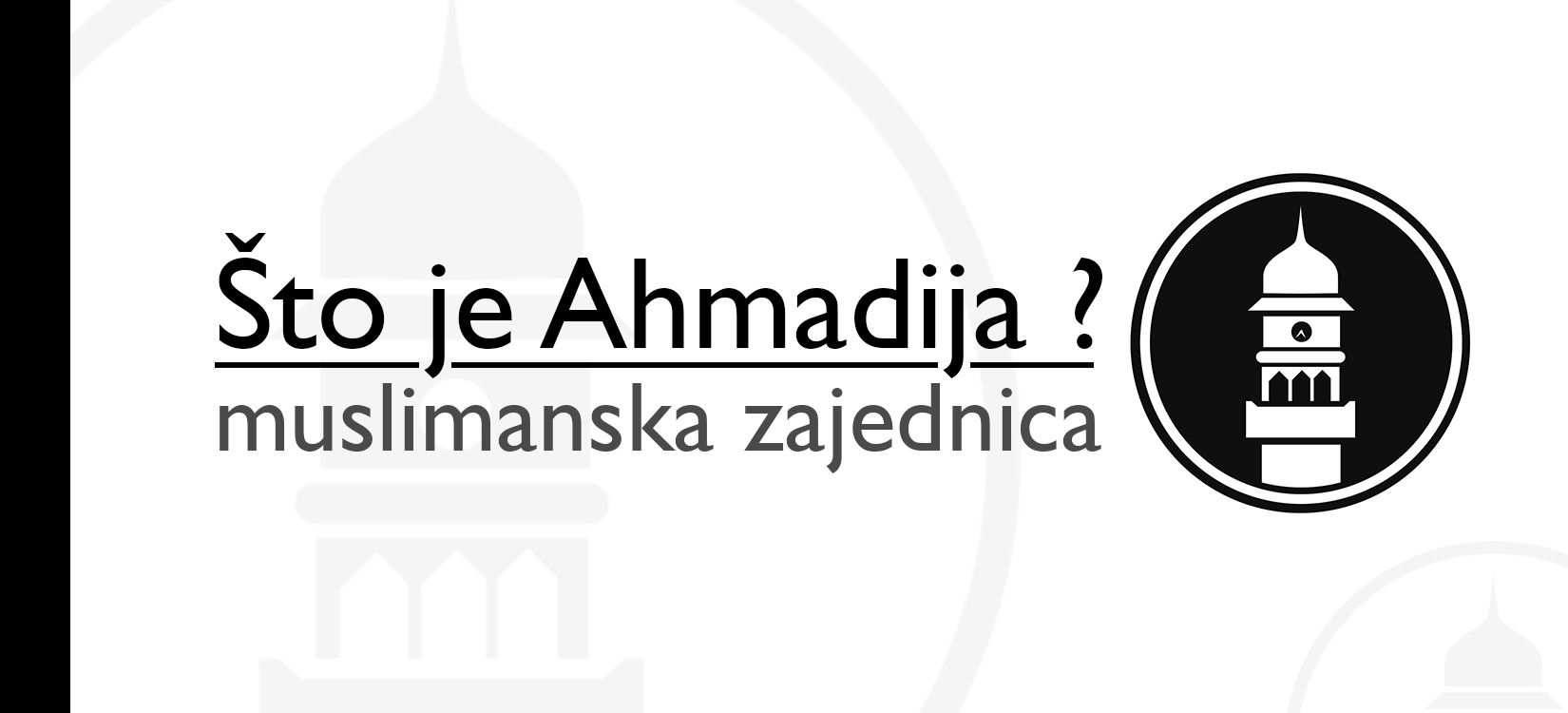 Što je Ahmadija