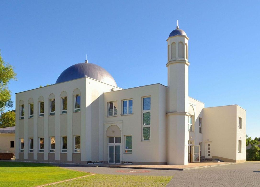 Германия Берлин Хадижа мечит Ислам ыйман мусулман ибадат сыйынуу