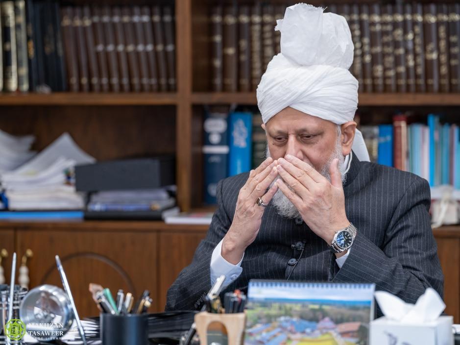 Швецариядагы мусулмандардын Халифа менен жолугушуусу