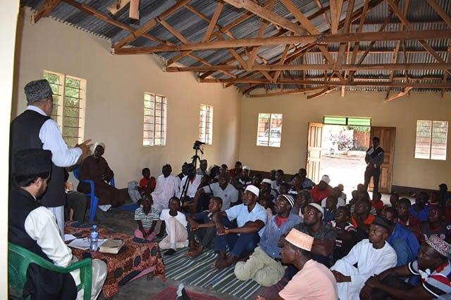 Танзанияда Ахмадия Мусулман Жамааты ачкан мечит