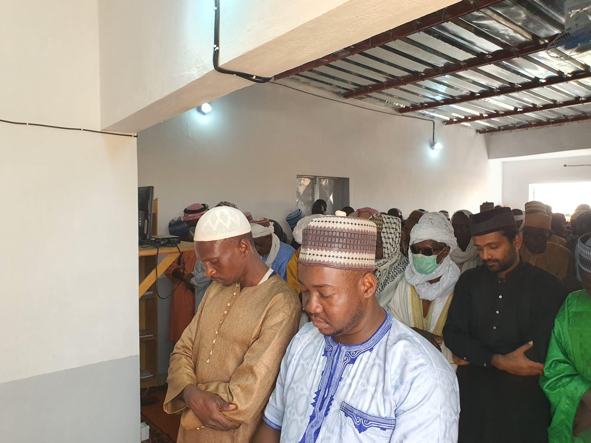 Жаңы ачылган мечит