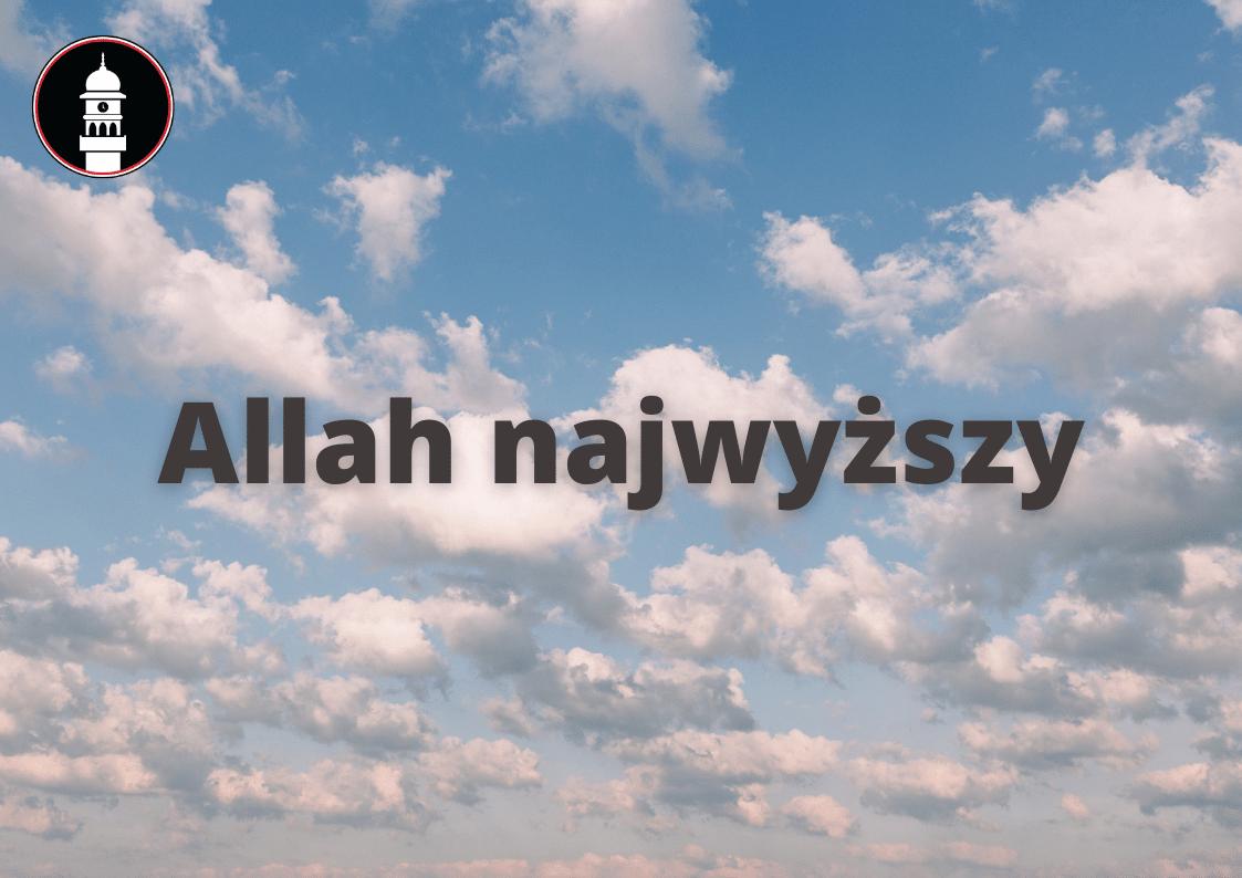 Allah Najwyższy