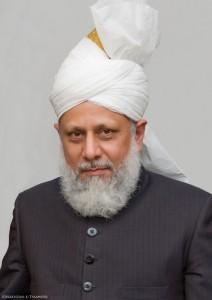 Его Святейшество, Хазрат Мирза Масрур Ахмад, Пятый Халиф и Глава всемирной Ахмадийской мусульманской общины